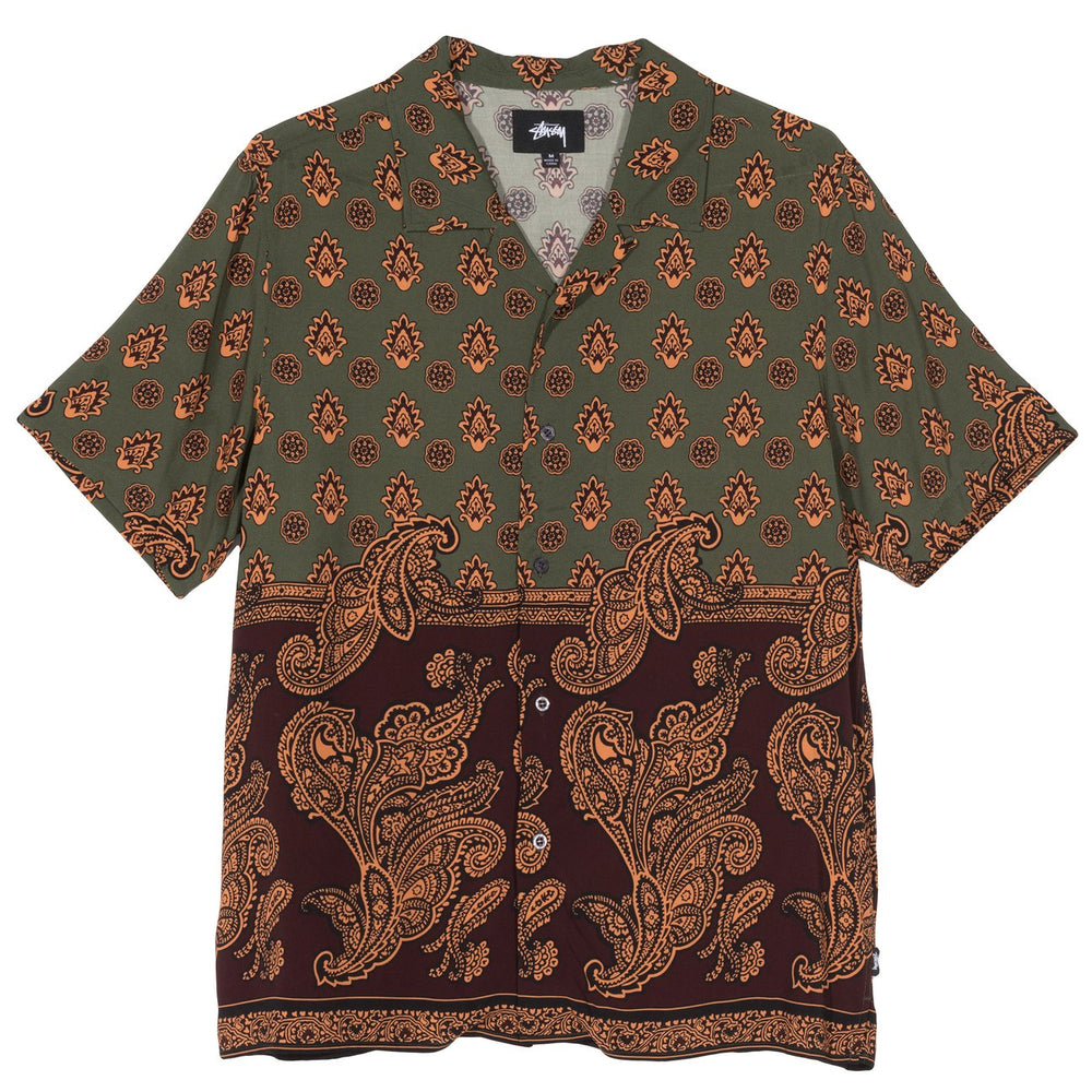 Load image into Gallery viewer, Block Paisley Shirt