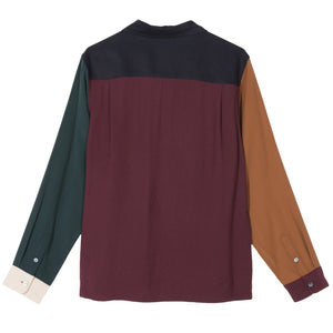 Load image into Gallery viewer, Color Block Rayon Shirt