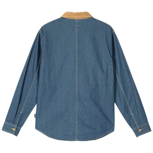 Load image into Gallery viewer, Cord Denim Mix Shirt