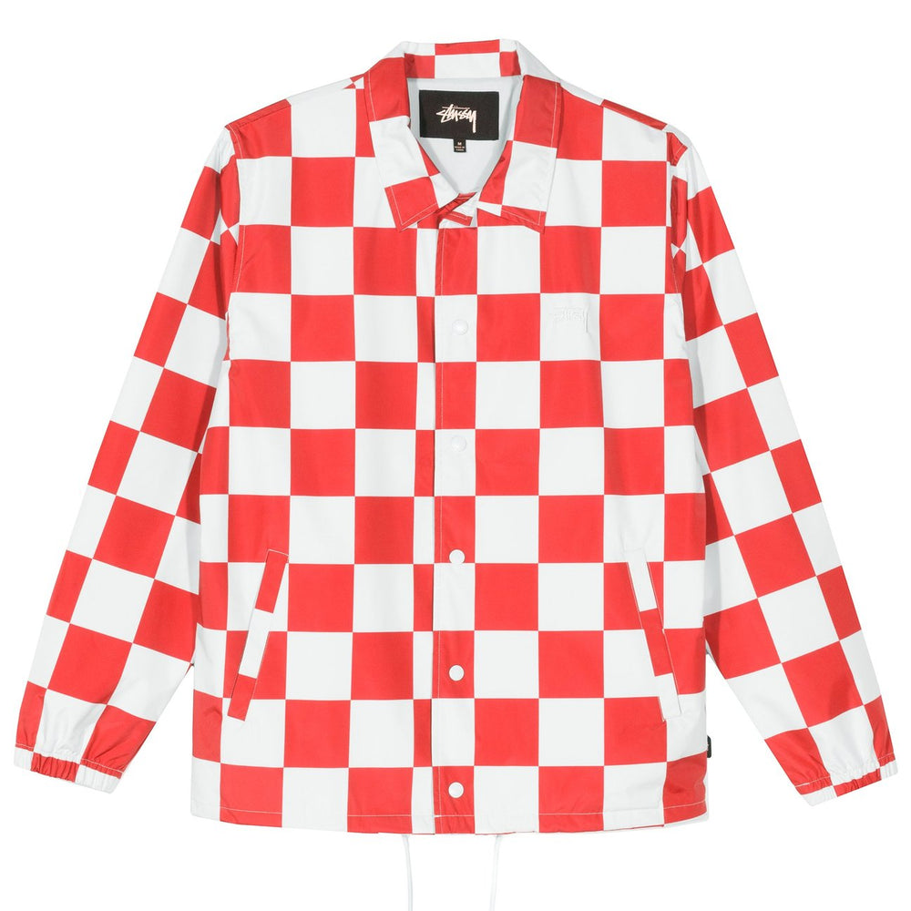 Load image into Gallery viewer, Checker Coach Jacket