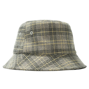 Load image into Gallery viewer, Big Logo Plaid Bucket Hat