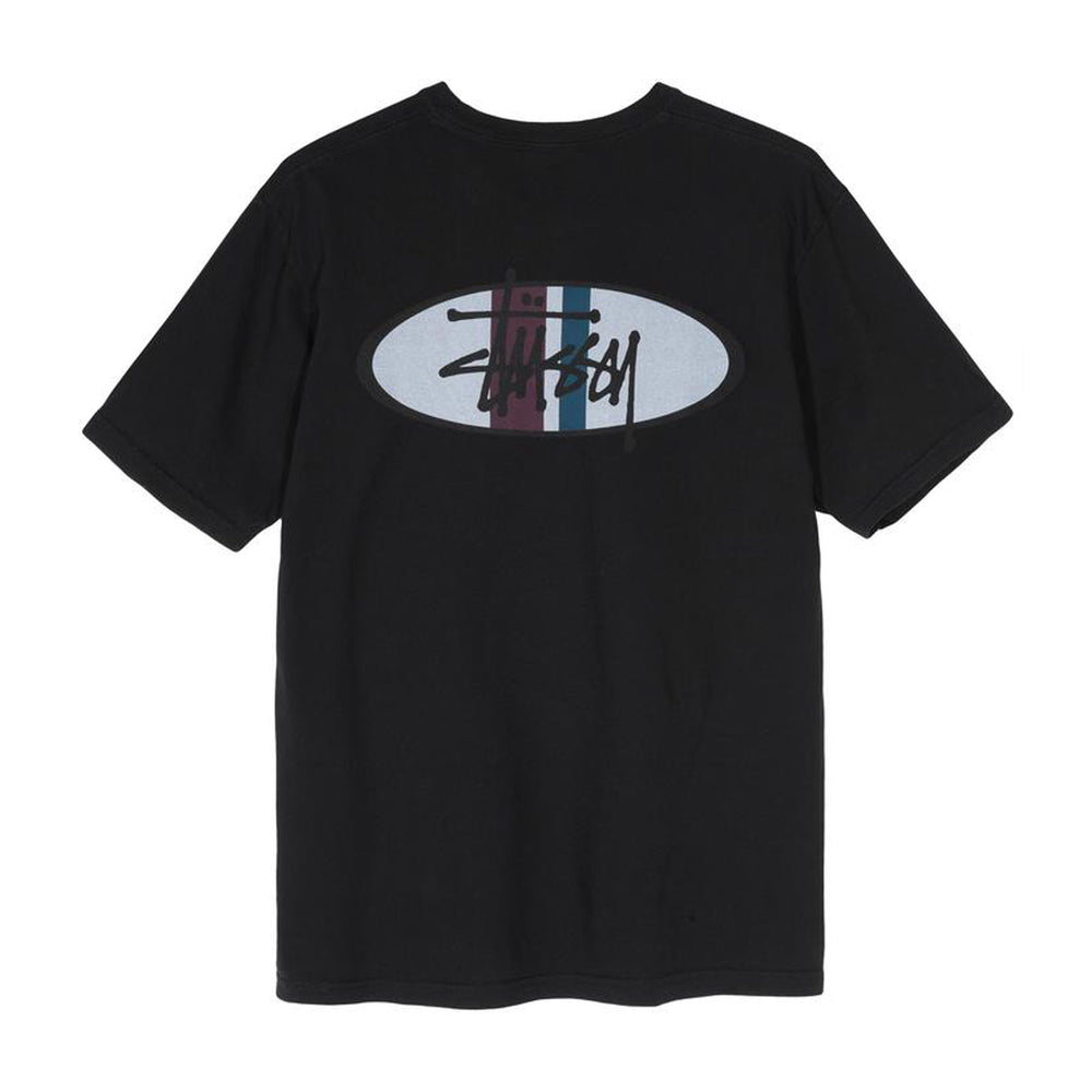 Load image into Gallery viewer, Two Bar Oval Pigment Dyed Tee