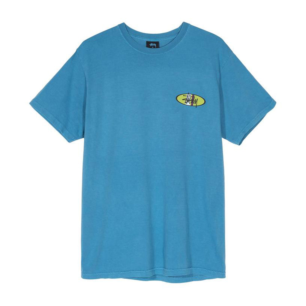 Two Bar Oval Pigment Dyed Tee
