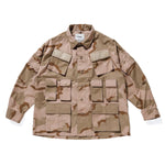 Modular Ls 02 / Shirt. Cotton. Ripstop. Camo - INVINCIBLE