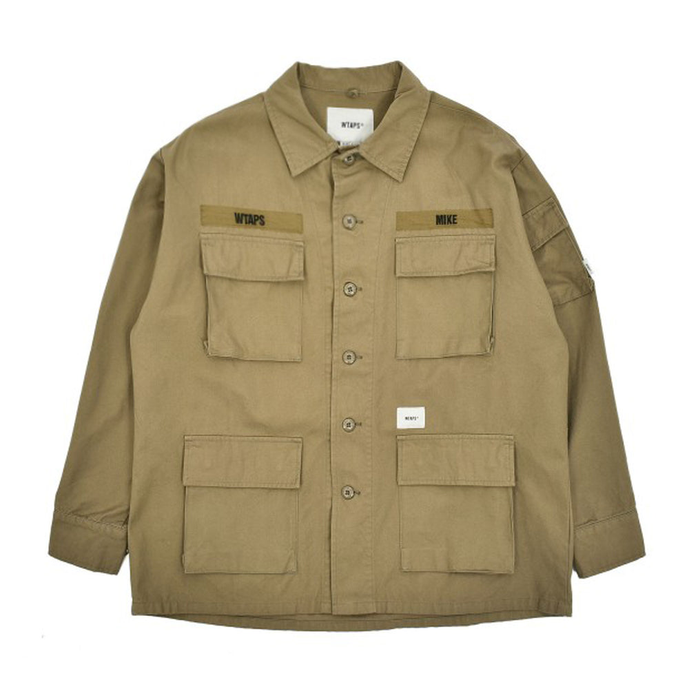 Jungle Ls / Shirt. Cotton. Canvas - INVINCIBLE