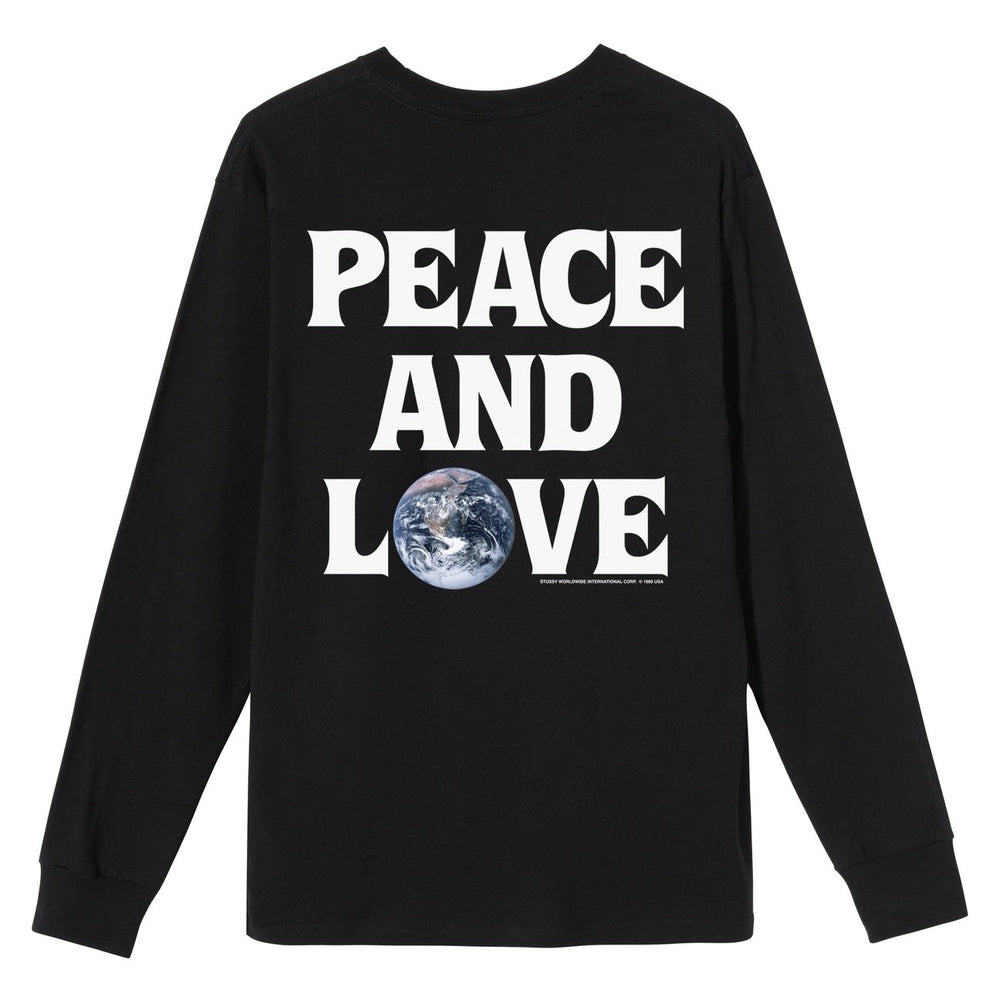 Peace & Love LS Tee