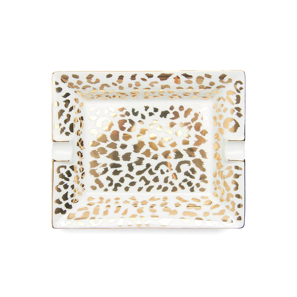 Leopard Ashtray ( Type-2 )