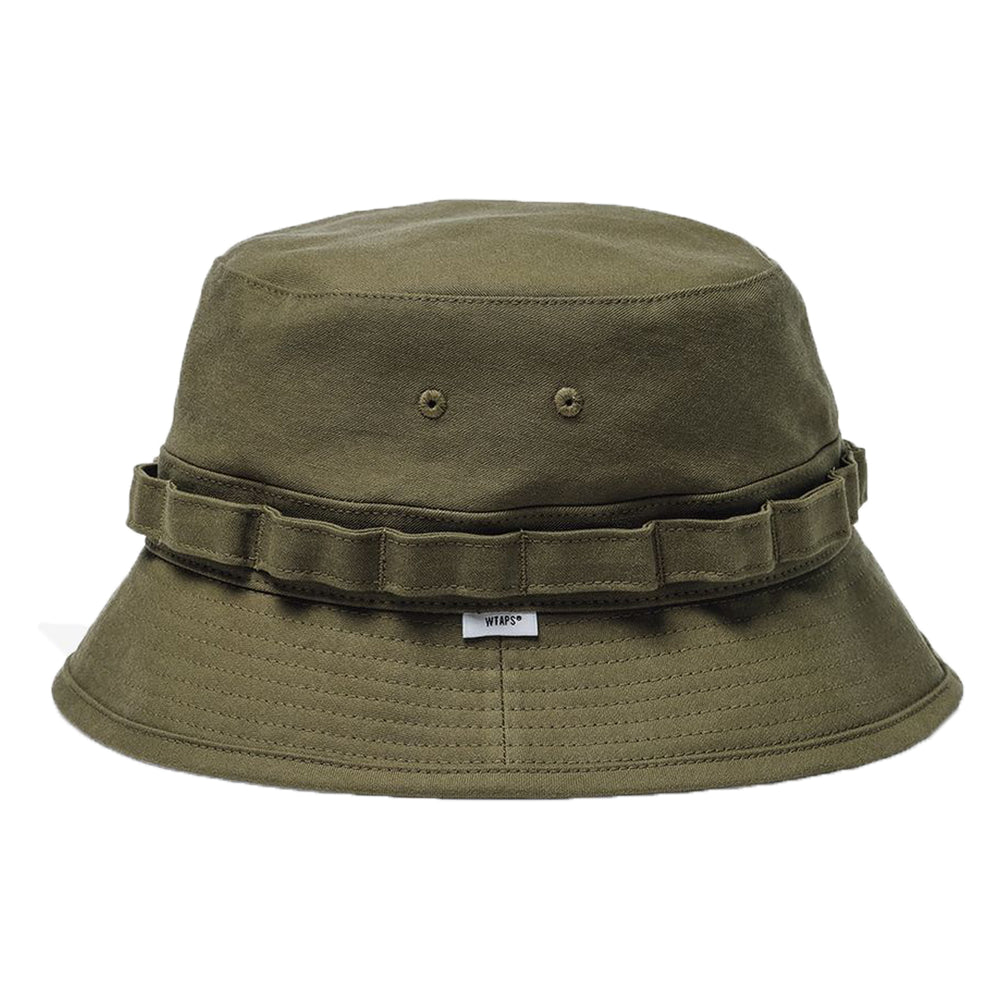 Jungle / Hat. Cotton. Satin
