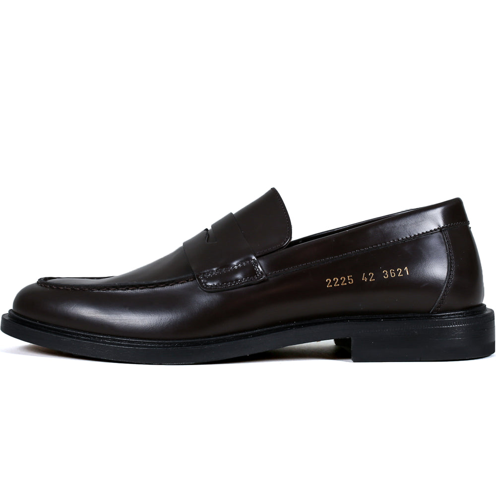 Loafer in leather