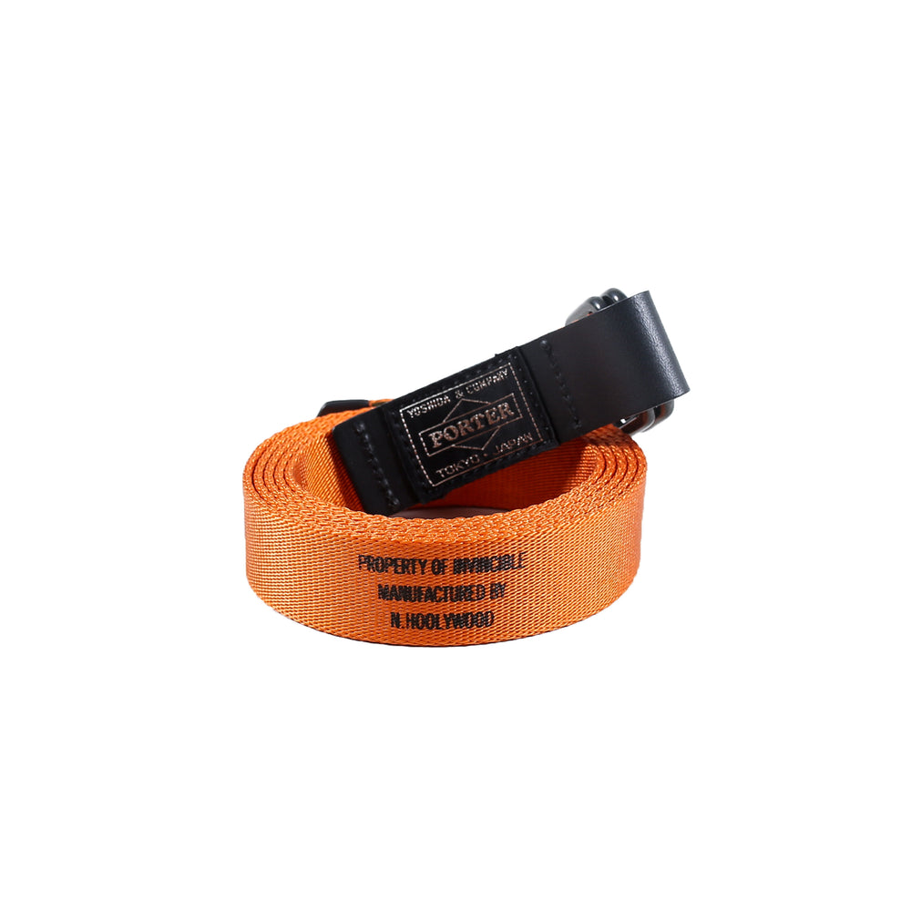 N. HOOLYWOOD X INVINCIBLE Belt Orange