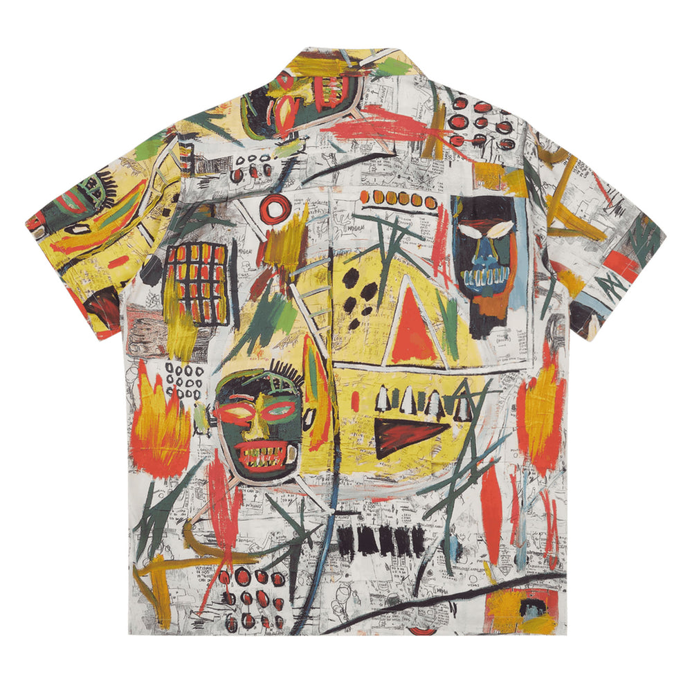 Load image into Gallery viewer, Jean-Michel Basquiat / S/S Hawaiian Shirt ( Type-2 )