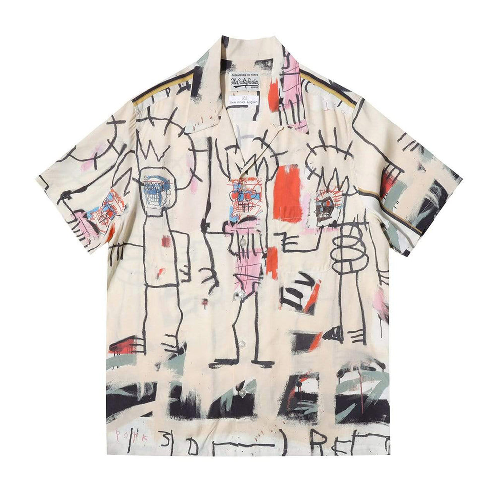 Jean-Michel Basquiat / S/S Hawaiian Shirt ( Type-3 )