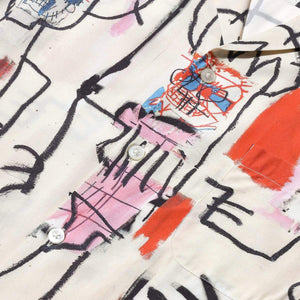 Load image into Gallery viewer, Jean-Michel Basquiat / S/S Hawaiian Shirt ( Type-3 )