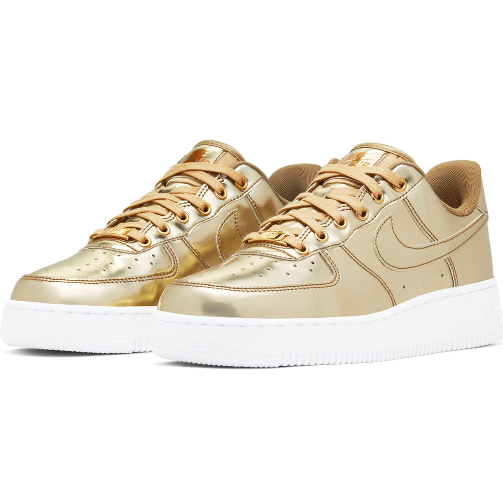 Women's Air Force 1 SP Gold - INVINCIBLE