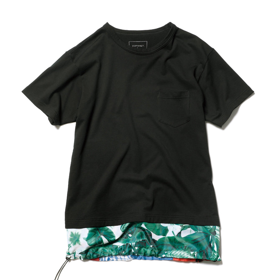 Fake Layered Pocket Tee