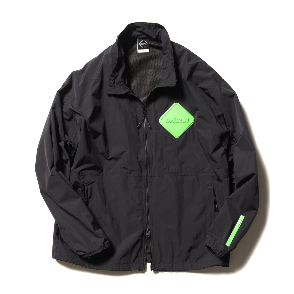 Big Emblem Stand Collar Blouson - INVINCIBLE