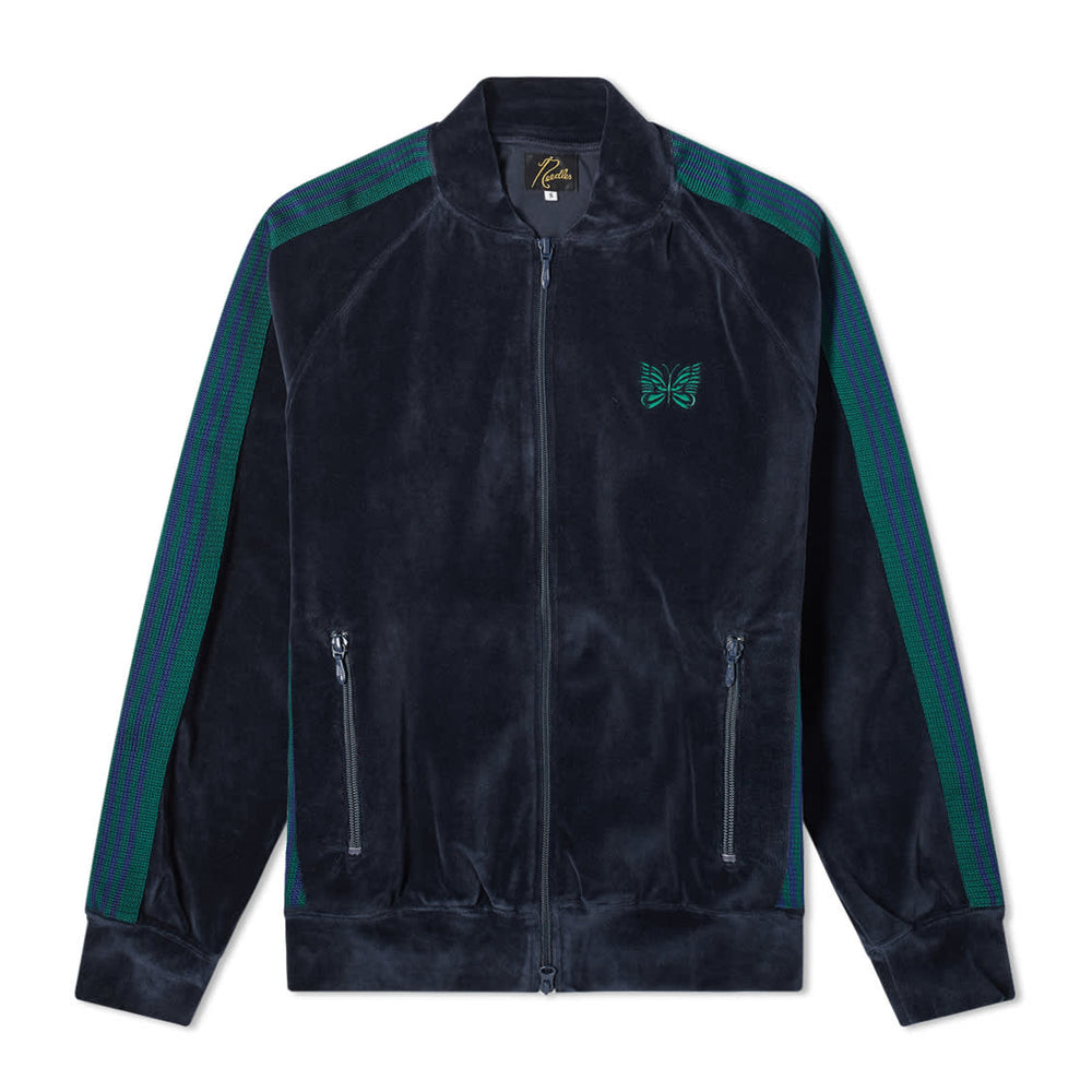 Rib Collar Track Jacket - C/Pe Velour - INVINCIBLE