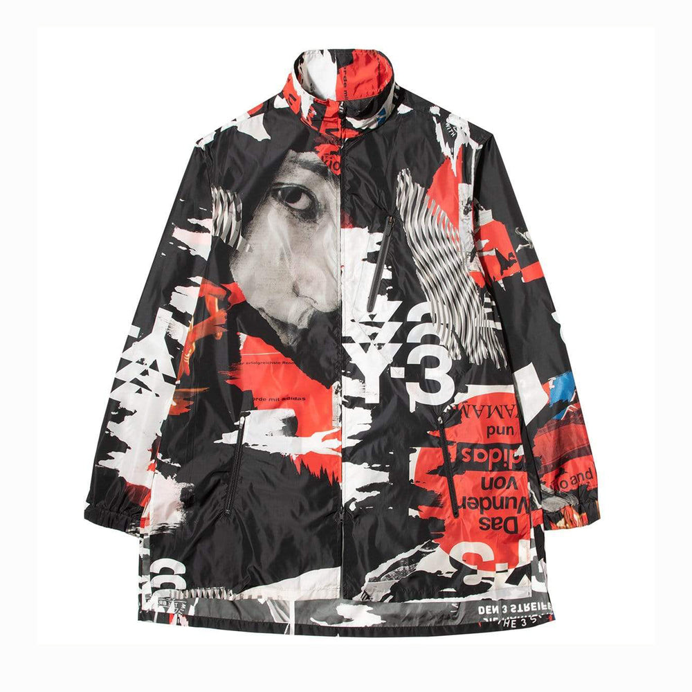 Y-3 CH1 Allover Print Long Jacket