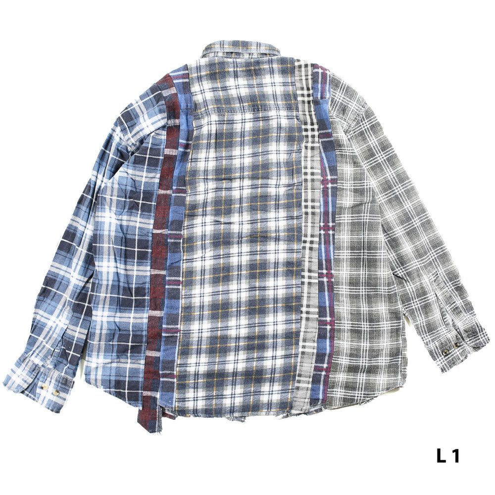 Load image into Gallery viewer, Flannel Shirt - 7 Cuts Shirt