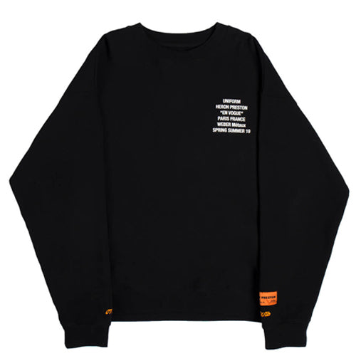 Crewneck LS Metal Worker - INVINCIBLE