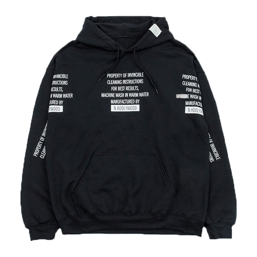 N. Hoolywood x Invincible Hoodie - INVINCIBLE