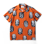 Neck Face / S/S Hawaiian Shirt ( Type-1 )