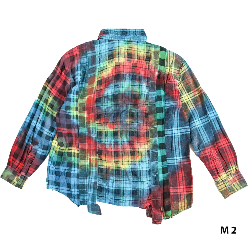 Load image into Gallery viewer, Flannel Shirt -> 7 Cuts Shirt / Tie Dye
