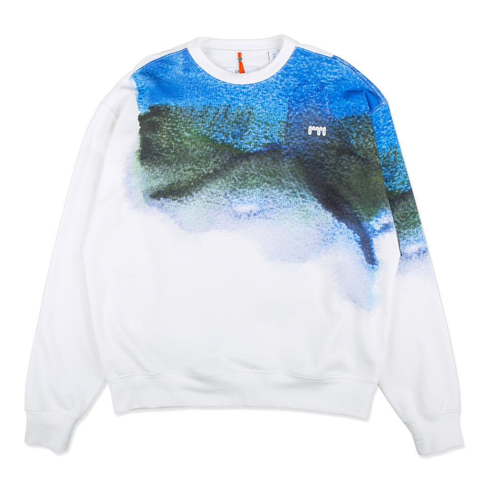 Watercolor Crewneck Jersey