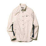 Dot Sleeve Panel B.D Shirt - INVINCIBLE