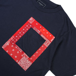Load image into Gallery viewer, Patched Pocket Bandana Wide Tee