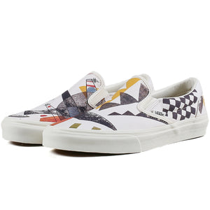 "Load image into Gallery viewer, MoMA x Vans UA Classic Slip-On Vasily Kandinsky ""Orange"""