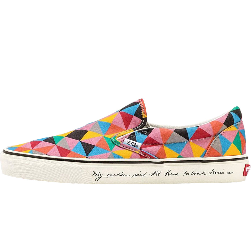 Load image into Gallery viewer, MoMA x Vans UA Classic Slip-On Faith Ringgold