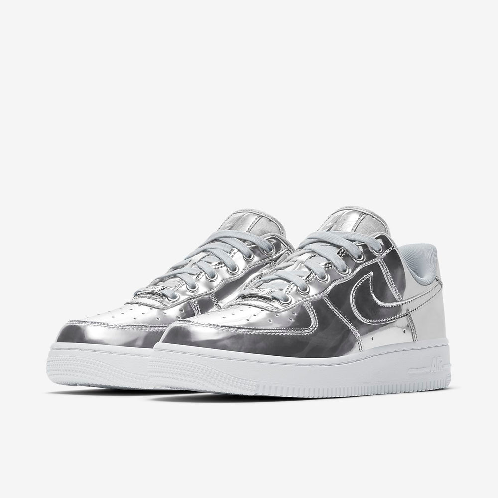 Women's Air Force 1 SP Silver - INVINCIBLE