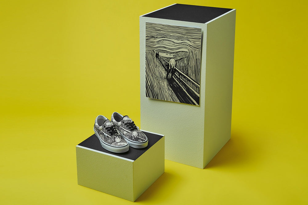 "Load image into Gallery viewer, MoMA x Vans UA Era Edvard Munch ""The Scream"""