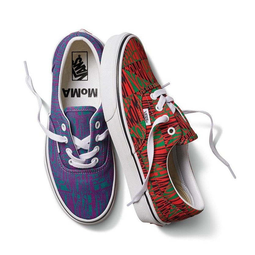 "Load image into Gallery viewer, MoMA x Vans UA Era Faith Ringgold ""Woman Free Yourself"""