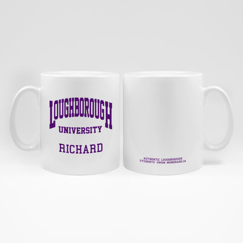 Mug White & Purple