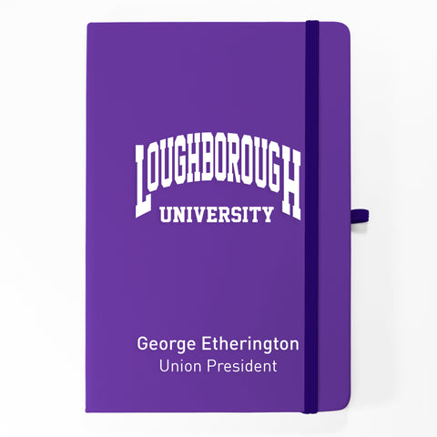 Personalised Loughborough A5 Note Pad