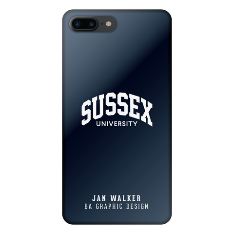 Personalised iPhone 7+ Case