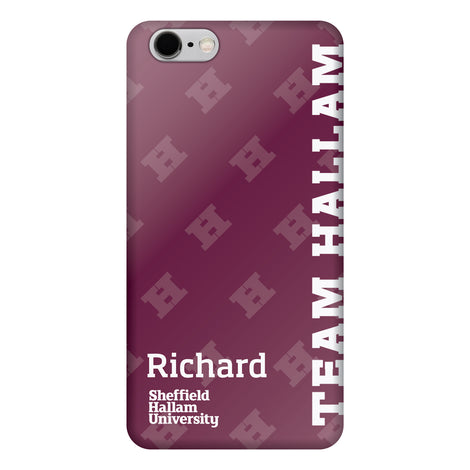 Team Hallam iPhone 7-8+ Case