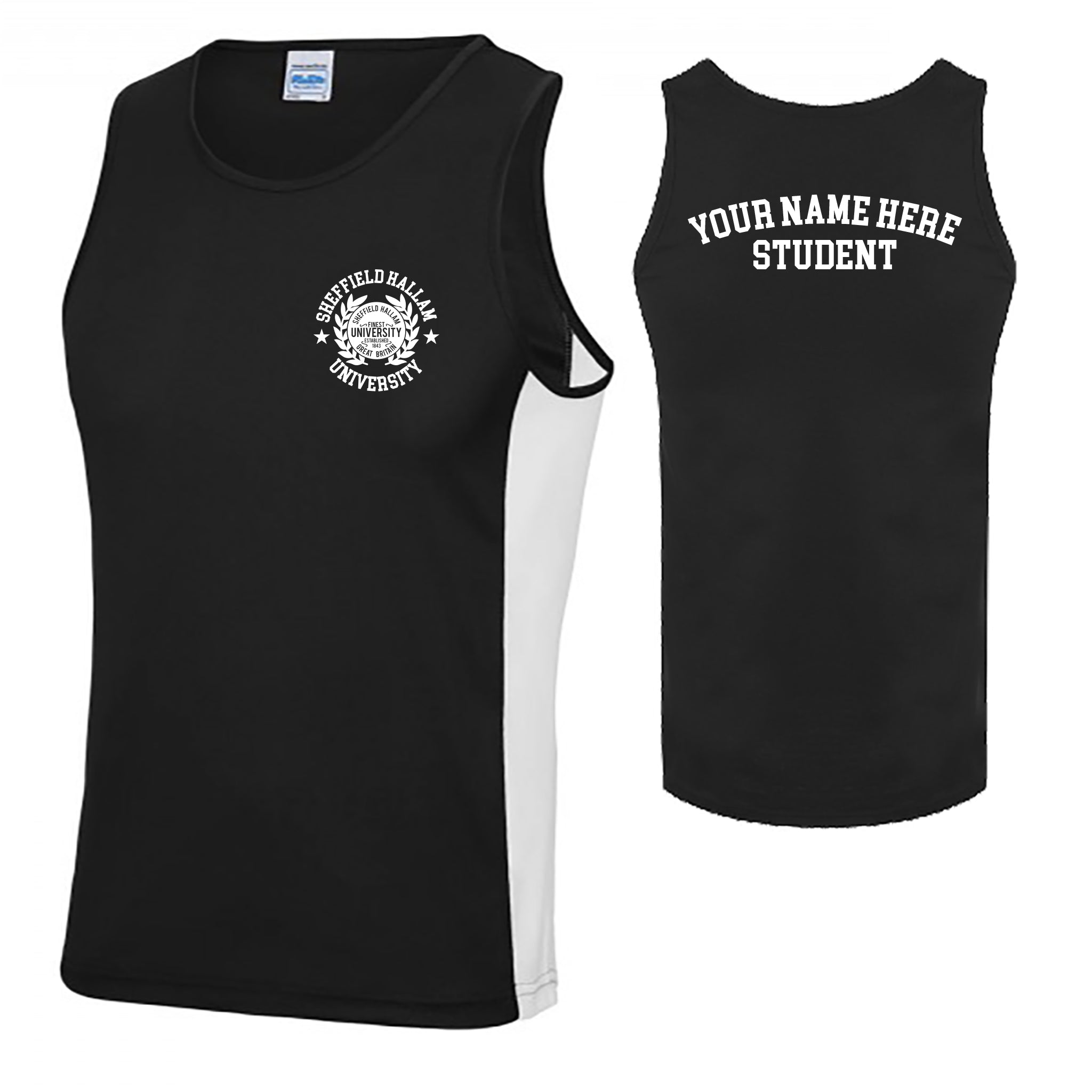 Personalised Team Hallam Society Vest