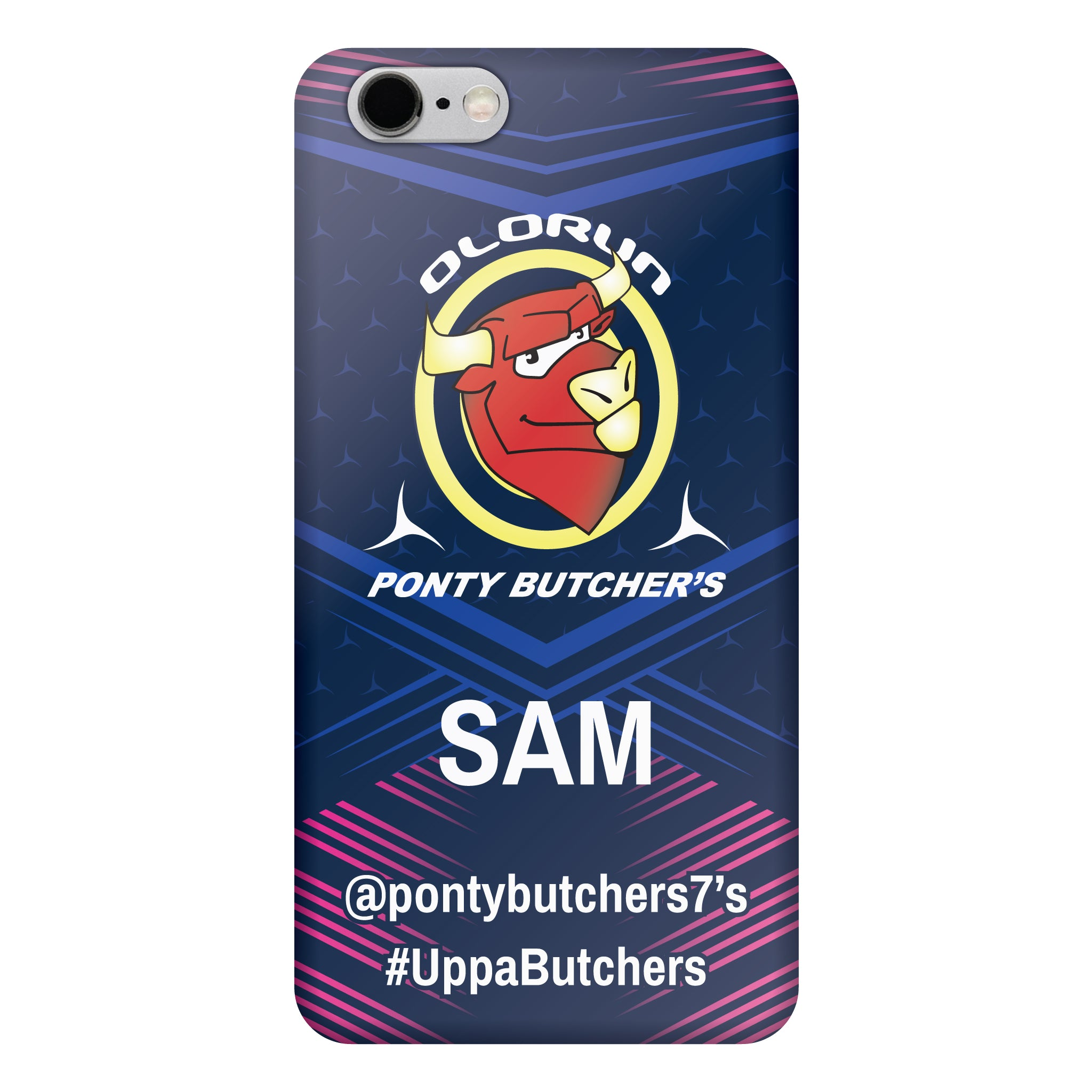 Ponty Butchers iPhone 6 Plus Case Personalised
