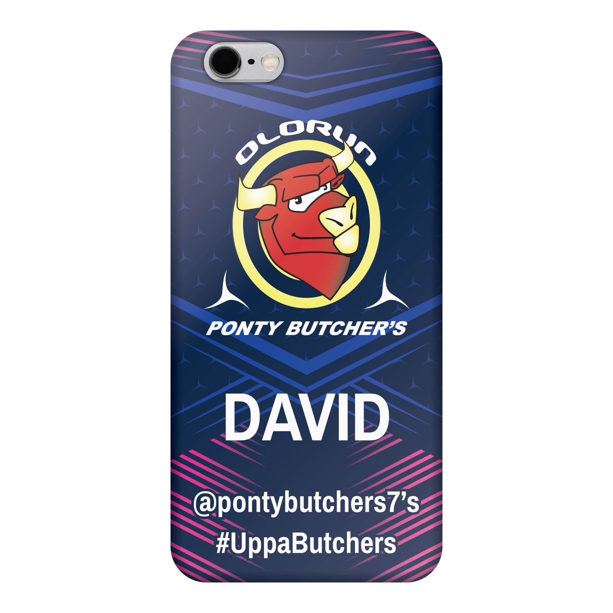 Ponty Butchers iPhone 6-6s Case Personalised
