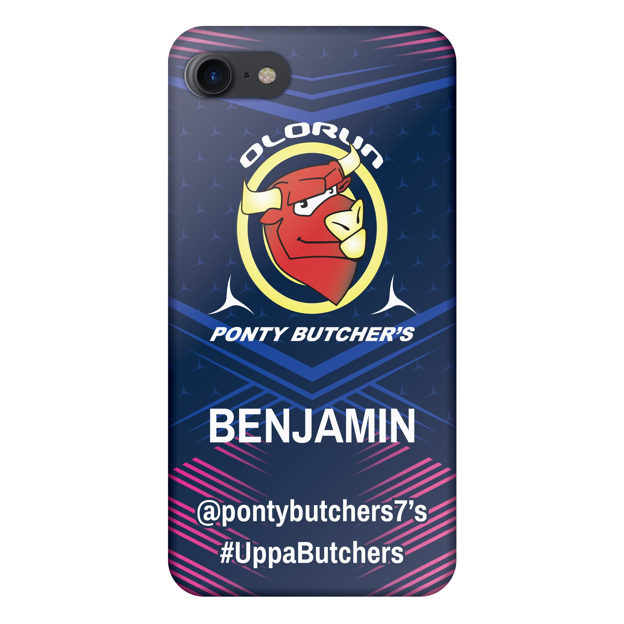 Ponty Butchers iPhone 7-8 Case Personalised