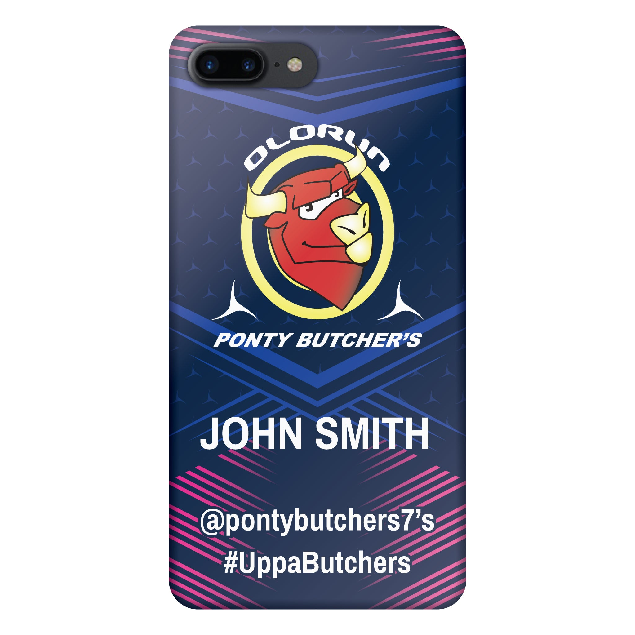 Ponty Butchers iPhone 7-8 Plus Case Personalised