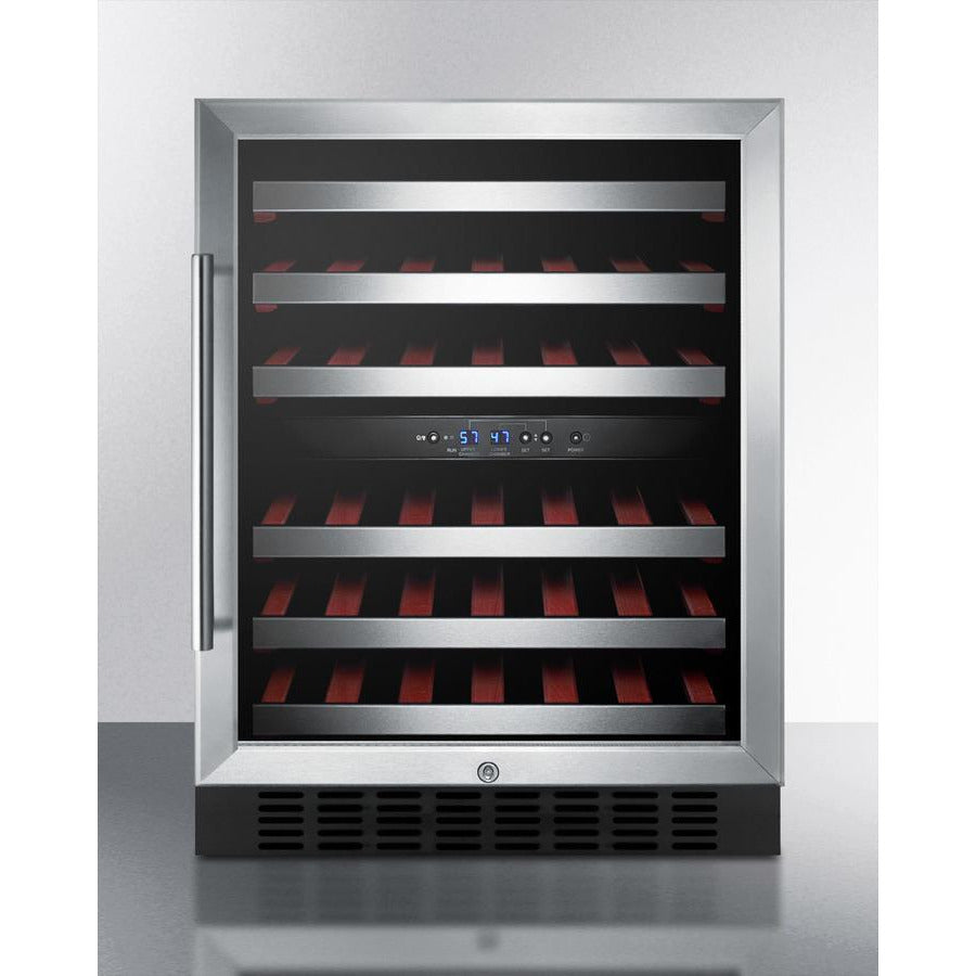 46 Bottle Dual Zone Convertible Wine Cooler