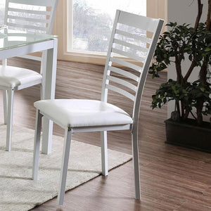 Alonso Contemporary Pub Chair (Set of 2) in White