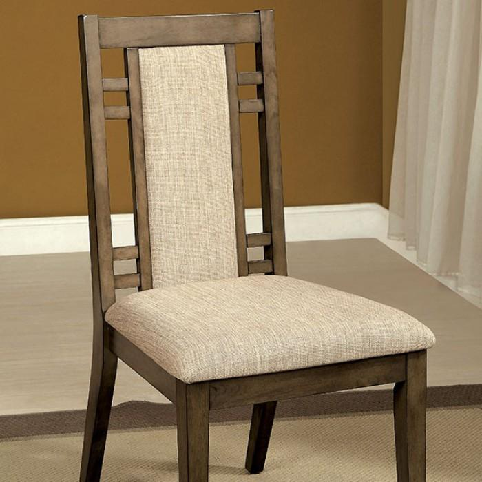 Ash Transitional Style Side Chair