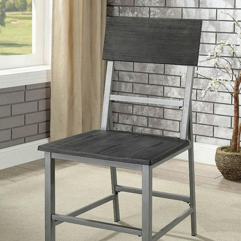 Avery Industrial Metal Dining Chair (Set of 2)