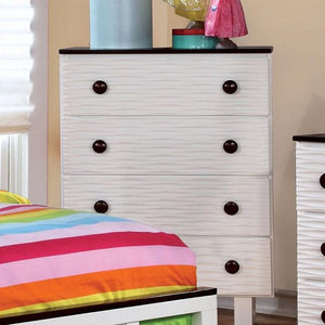 Bella Transitional Two-tone Multi-drawer Chest