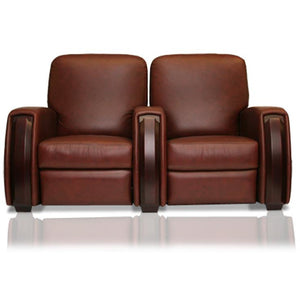 Premium series celebrity lounger Style Luxurious motorized Leather recliner home Theater Seating